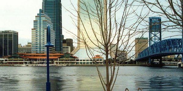 Jacksonville skyline - photographer Barry Sweetman