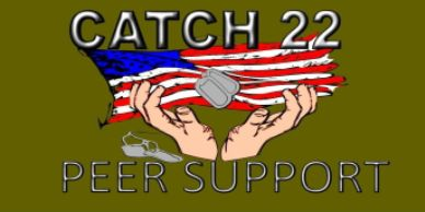 Catch 22 peer support  support for veterans military and family