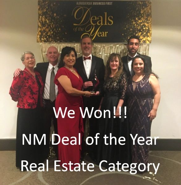 Albuquerque Business First 2019 NM Deal of the Year-Commercial Real Estate Category
