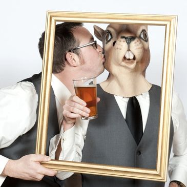 Portland Wedding Photobooth from Paradox Productions, photo booth
