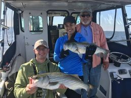Family Fishing Annapolis fishing charters on board the Down Time
