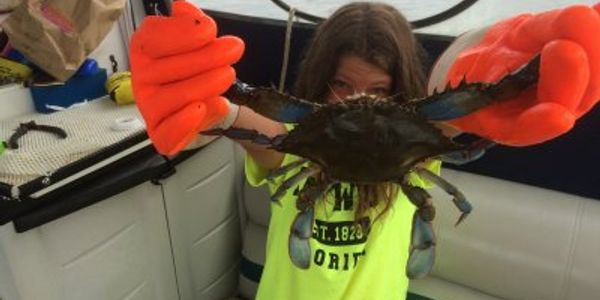 Big Crabs -Down Time Sportfishing Charters on board the Down Time