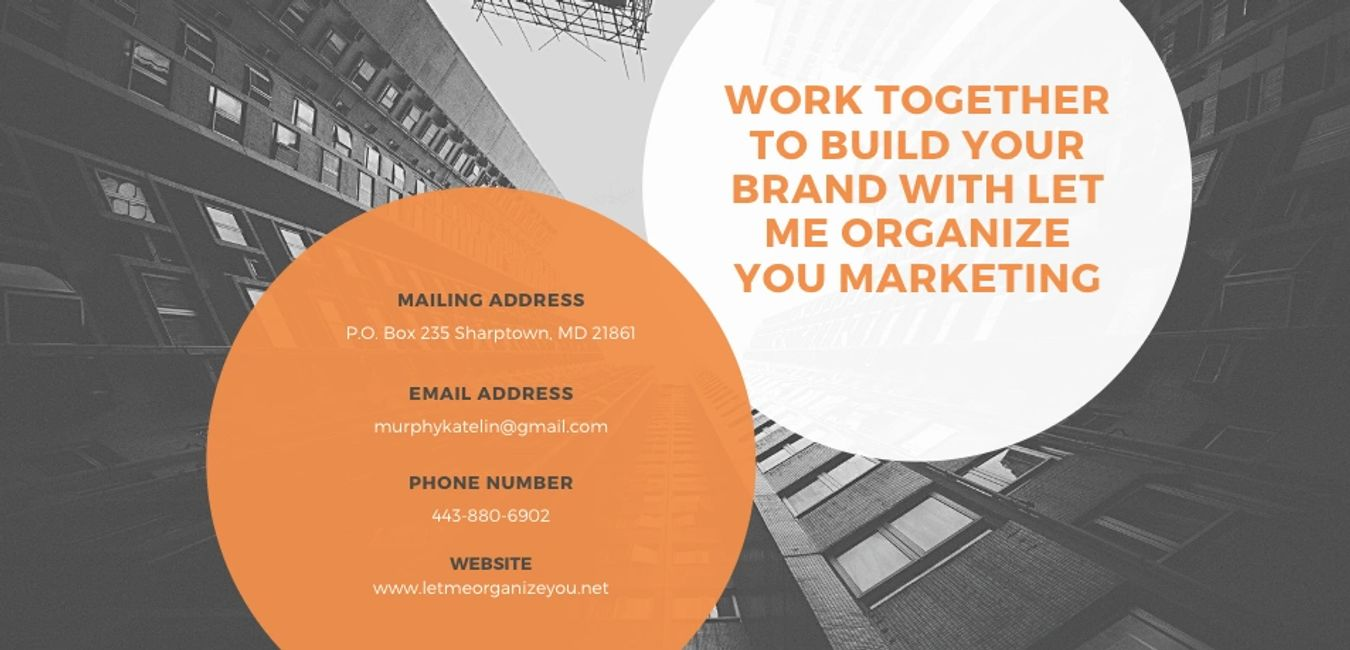 Contact Let Me Organize You Marketing