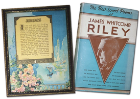 James Whitecomb Riley best love poems book.