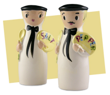 Vintage salt & pepper shakers come in all shapes and sizes.