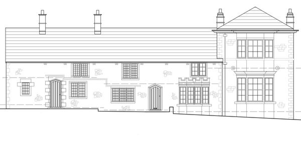 Listed building architect drawing