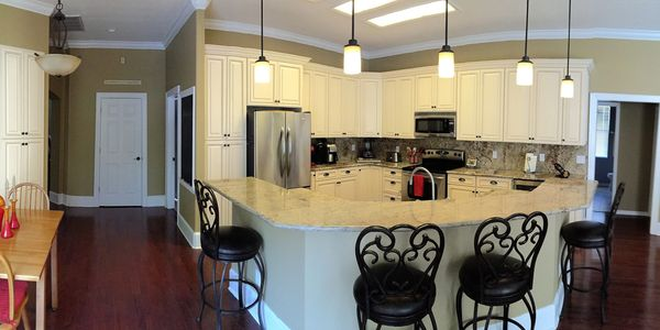Beautiful Bayshore kitchen renovation Remodeled by local contractor Tampa, Florida.
