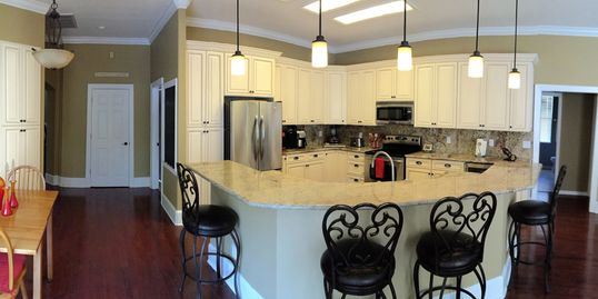 Luxury kitchen remodels created by a local South Tampa Contractor.  Tampa, Florida.