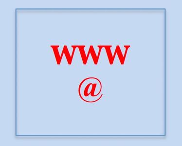 www and @ logo. we can help to buy both website and email address's.
