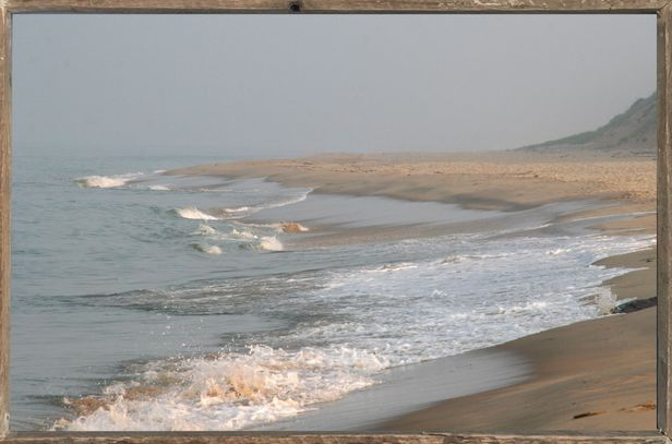 "Nauset Beach  44"" x 28""  - for a dramatic,  but peaceful impact on any wall."