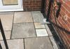 Birley Moor Road Paving - Indian Stone Paving & Drain