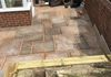 Birley Moor Road Paving - Jointing Paving, gives a polished finished look