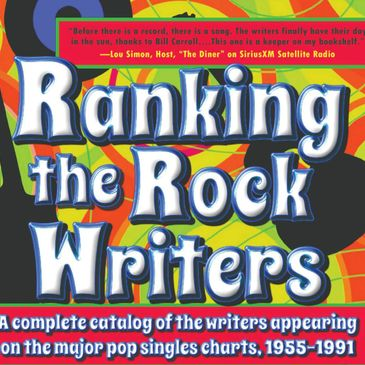 Cover of Ranking the Rock Writers