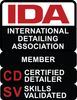 We are members of the International Detailing Association (IDA) we are also Certified Detailers with