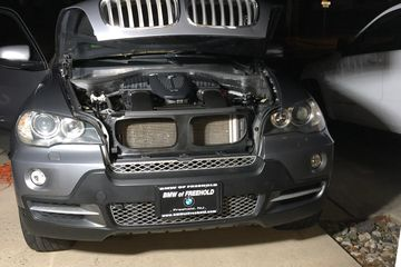 BMW SUV Headlight Restoration
