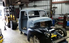 1949 Chevy Truck, custom hot rod, custom body, '49, Chevrolet, Truck, fabrication, slammed, dropped