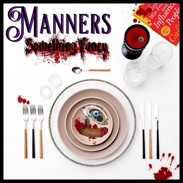 Manners Album Cover.