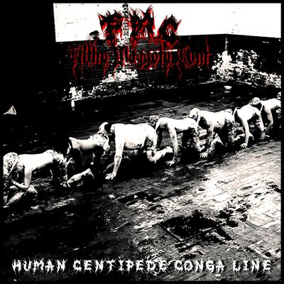 FMC Human Centipede Conga Line Alternative Single Album Cover.