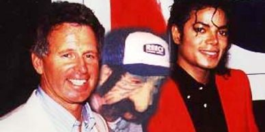 DJ Uncle Brian with Tony Barber and Michael Jackson.