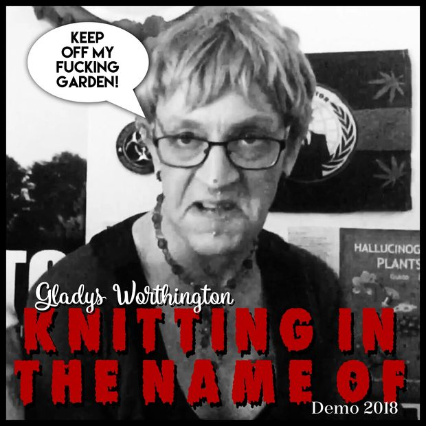 Gladys Worthington Knitting in the Name Of Demo Cover.