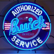 Vintage Buick Neon Sign