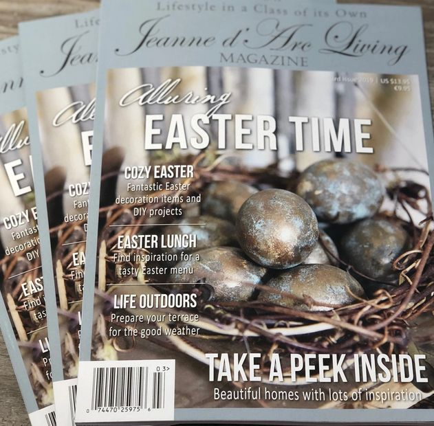af8aac8ec92 The Jeanne d Arc Living Magazine is a 95% advertisement free monthly  lifestyle magazine filled with creative DIY ideas