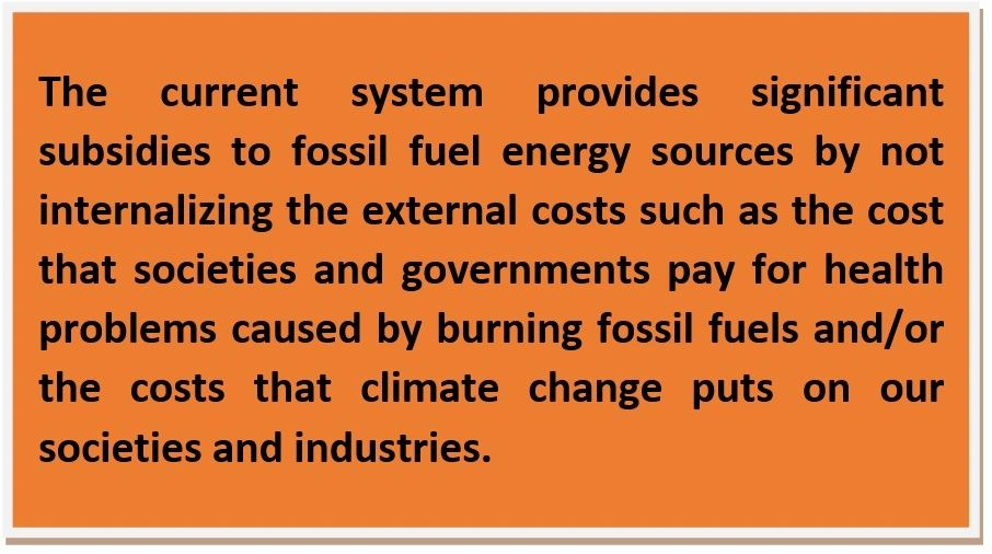 what are the problems of using fossil fuels