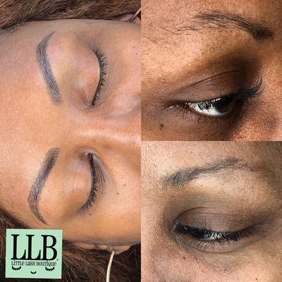 Microblading is the most amazing brow service anyone could get! Perfection!