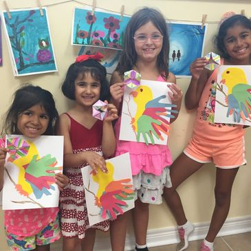 Summer camp, Art and play camp, STEM camp, in Explore Center, in Richmond Hill, ON