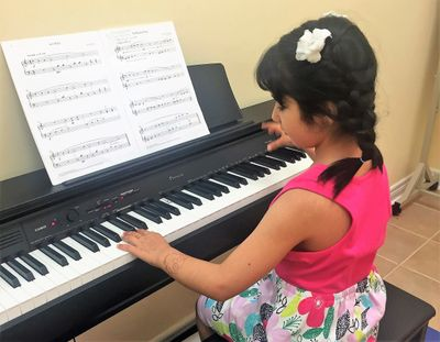 Piano lessons at Explore Center, Richmond Hill, ON