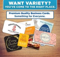 business cards and business stationery