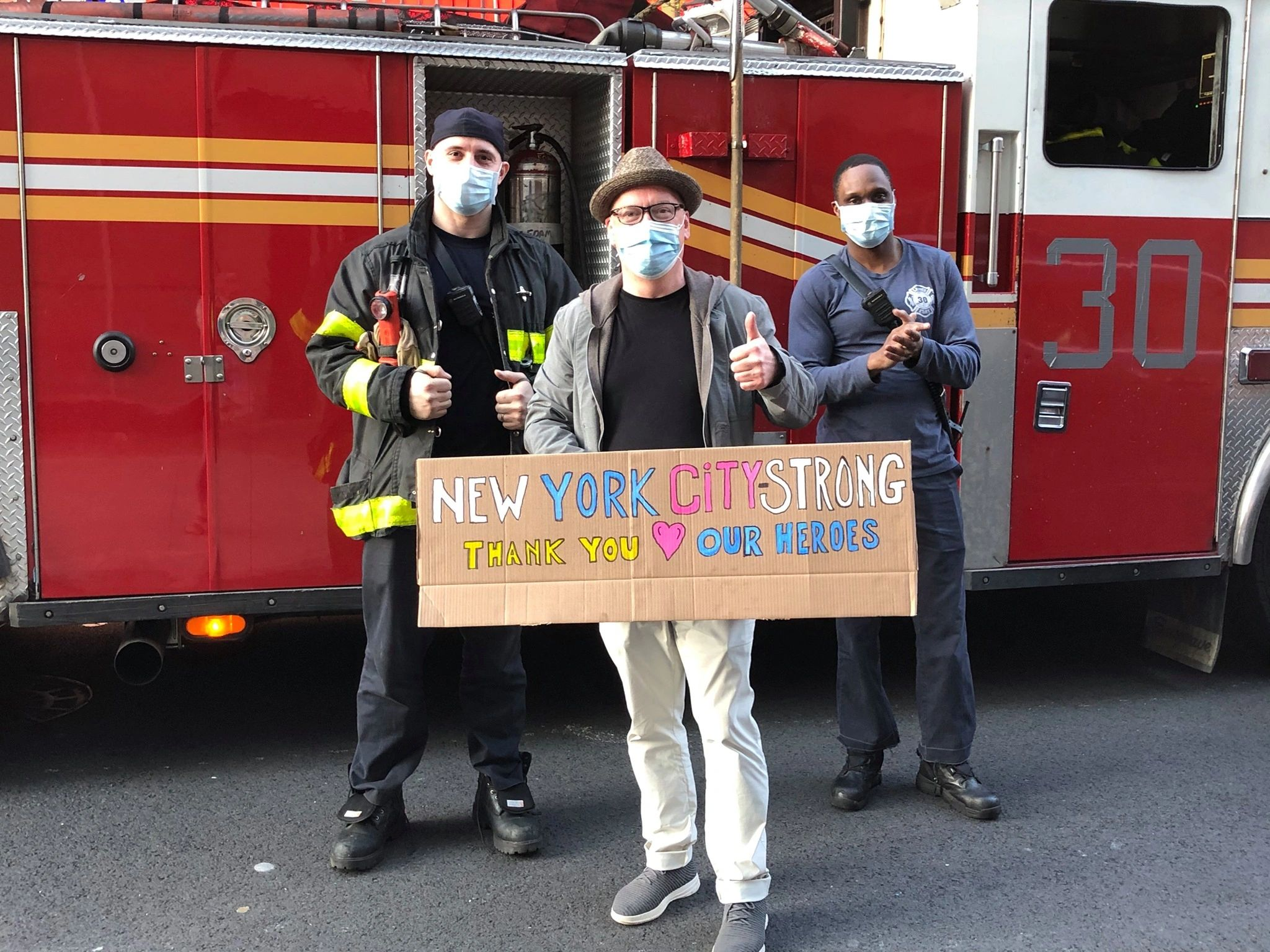 NYC Strong with NYFD