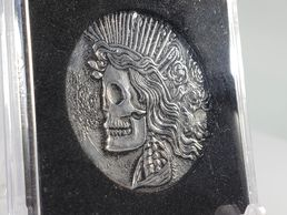 The Exposure Coin™ featuring the Liberty Skull by Ron Landis