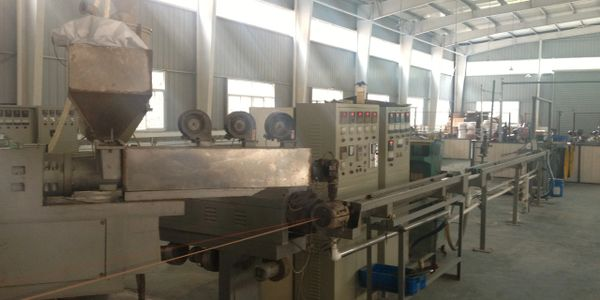FOBELEC factory coaxial cable machine