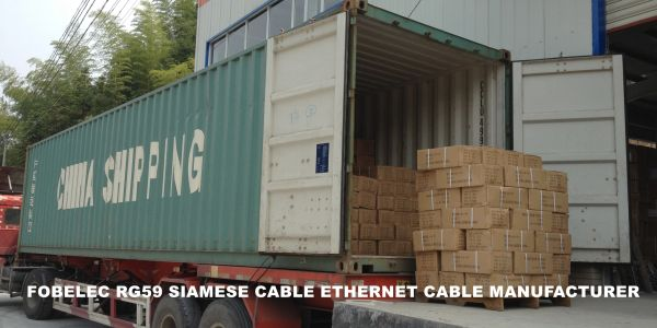 RG59 SIAMESE CABLE ETHERNET CABLE MANUFACTURER