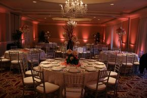 Up-Lighting for your event Sound Sensations DJ Service Rochester, NY