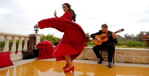 flamenco dance, flamenco guitar