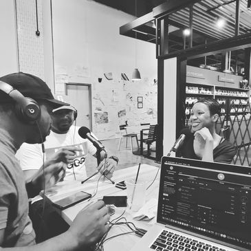Tawan, Jamar Harris and Tia McCray on the Triple A Podcast