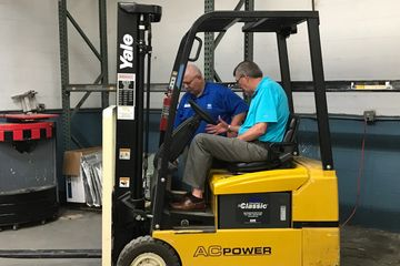 OSHA Safety training Forklift Operators
