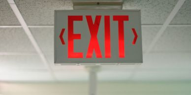 Emergency LIghting, Exit Light, Emergency Light, Path of Egress, Emergency Evacuation