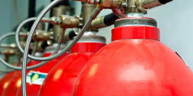 Fire Suppression Systems, Pre-Engineered Fire Suppression, Kitchen Systems, Spray Booth Systems.