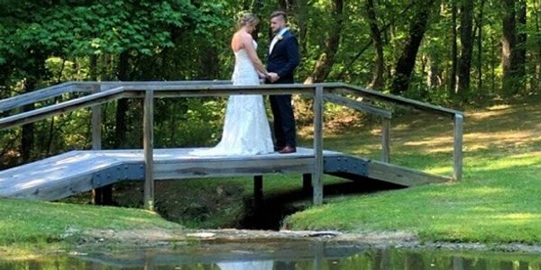 "Offering a very tranquil and private setting for bridal photos, ""First Looks"" and family photos.  Th"