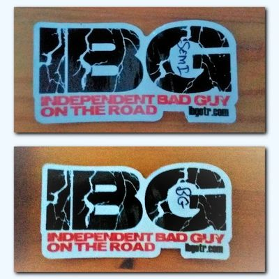 IBG Scavanger Hunt Signed Stickers