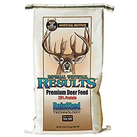 deer pellet rainshed technology deer feed whitetail results