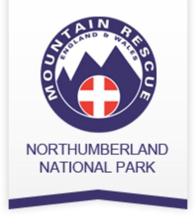 Northumberland National Park Mountain Rescue Team Logo