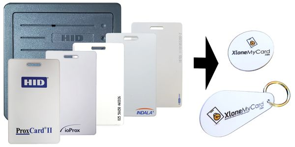XloneMyCard | Mobile Copy / Clone Service of RFID Key Cards & Fobs