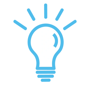 small icon of lightbulb
