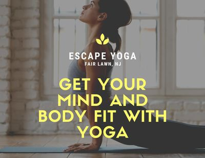 Get your mind and body fit with ESCAPE yoga
