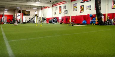 Escape Fitness of Fair Lawn - Turf area