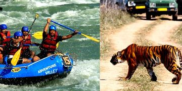 Rafting ,Rajaji Tiger Reserve, National Park, Jungle Safari,India ,Haridwar,Rishikesh,Uttarakhand,